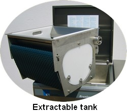 Extractable tank